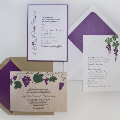 Vineyard Invitations photo