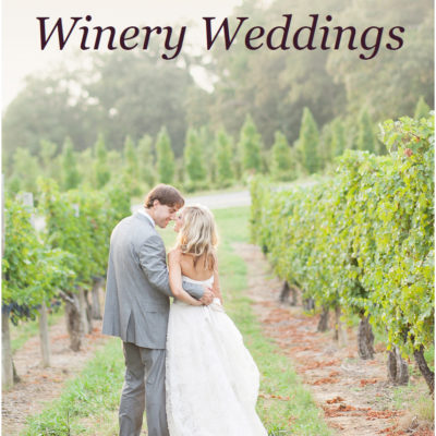Book cover to A Brides Guide to Winery Weddings